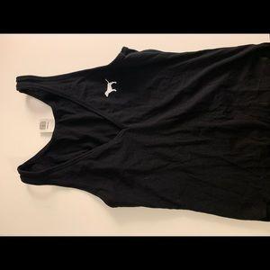 black victoria secret bodysuit size s